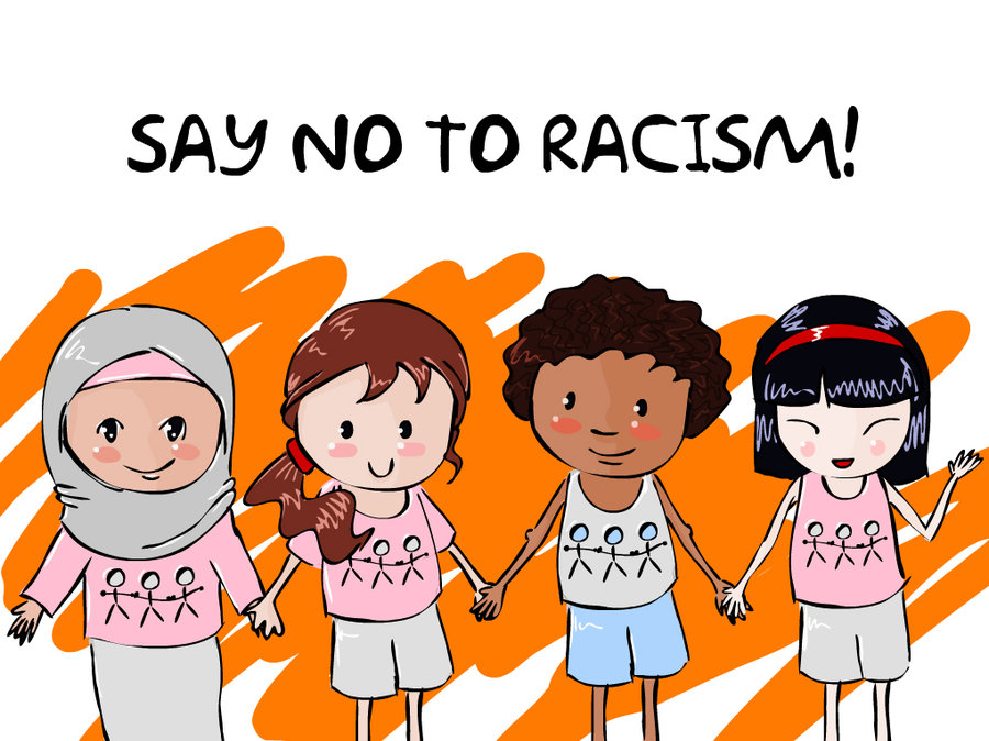 say_no_to_racism_by_dalia1991-d2xqh0n